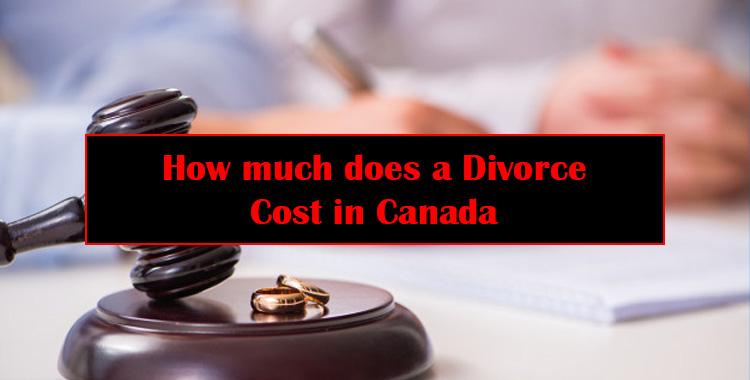 Divorce Cost in Canada
